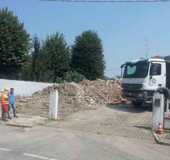 Fasi di demolizione